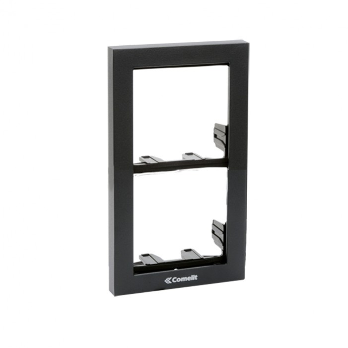 Comelit 3311-2A Module-Holder Frame Complete With Cornice For 2 Module