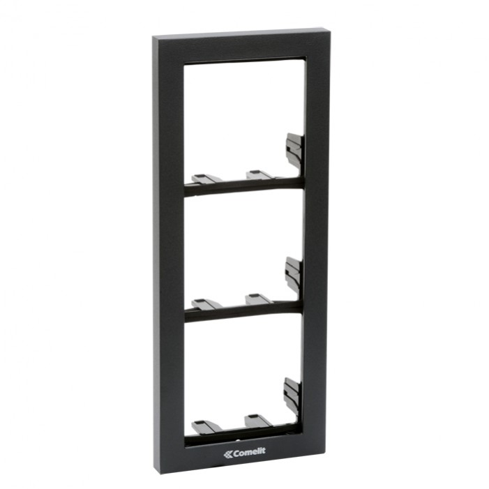 Comelit 3311-3A Module-Holder Frame Complete With Cornice For 3 Module