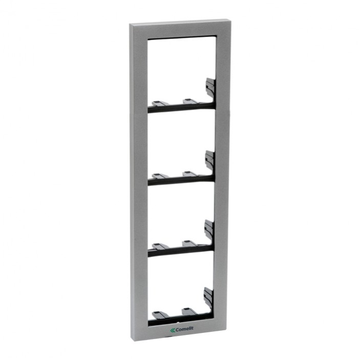 Comelit 3311-4S Module-Holder Frame Complete With Cornice For 4 Module