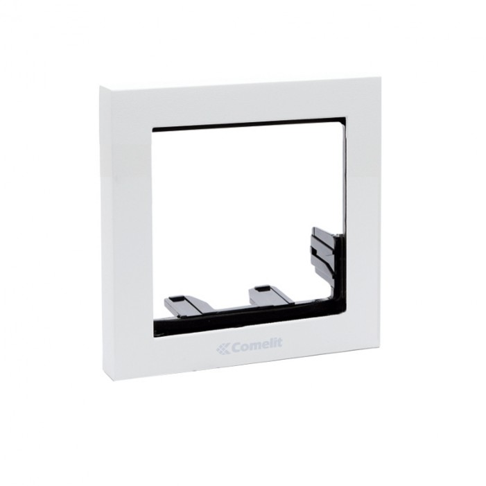 Comelit 3311-1W Module-Holder Frame Complete With Cornice For 1 Module