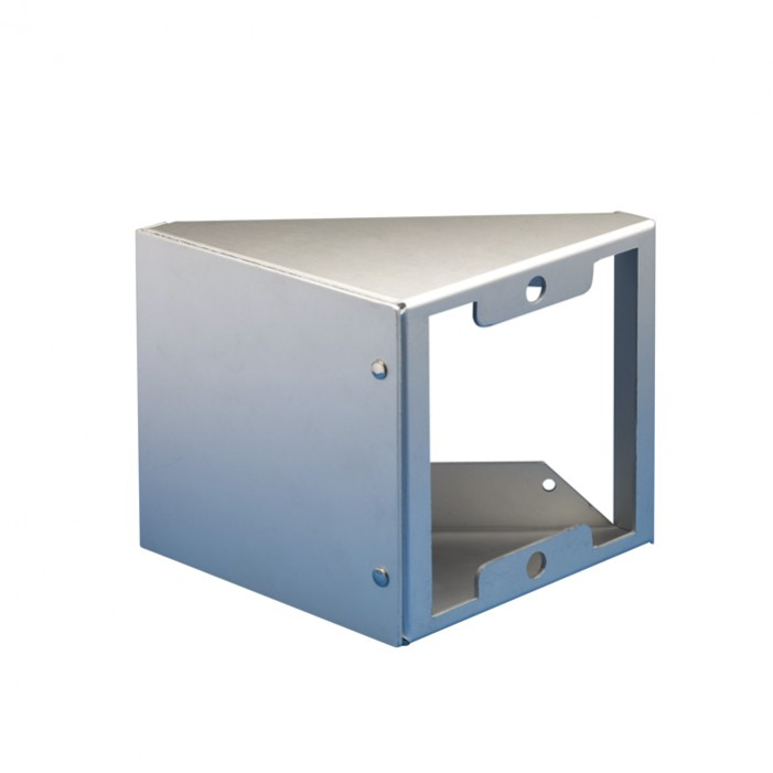 Comelit 3649/2 Housing for angling the Powercom entrance panel at 45.