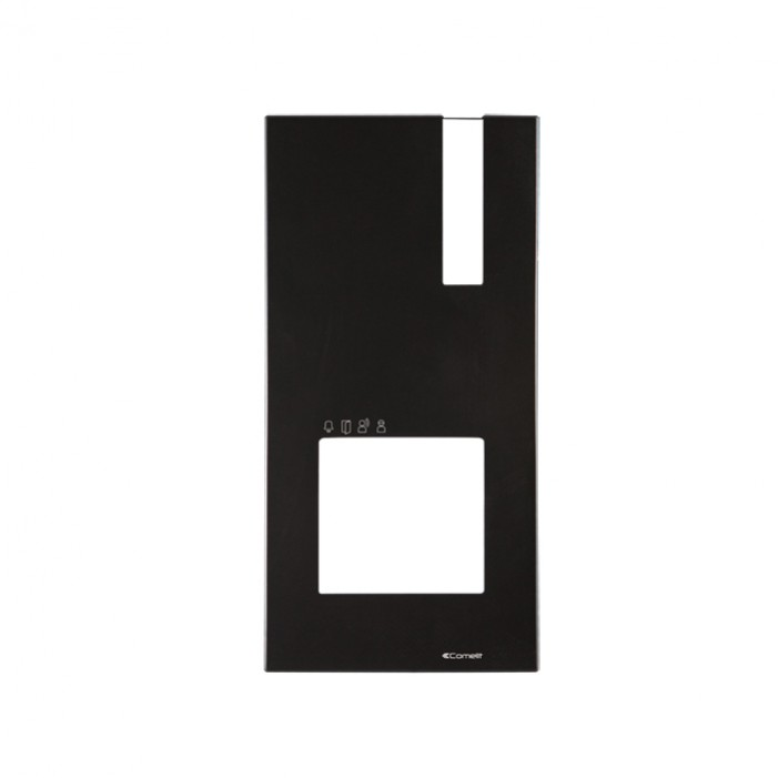 Comelit 4793B Black Faceplate for Quadra Entrance Panel