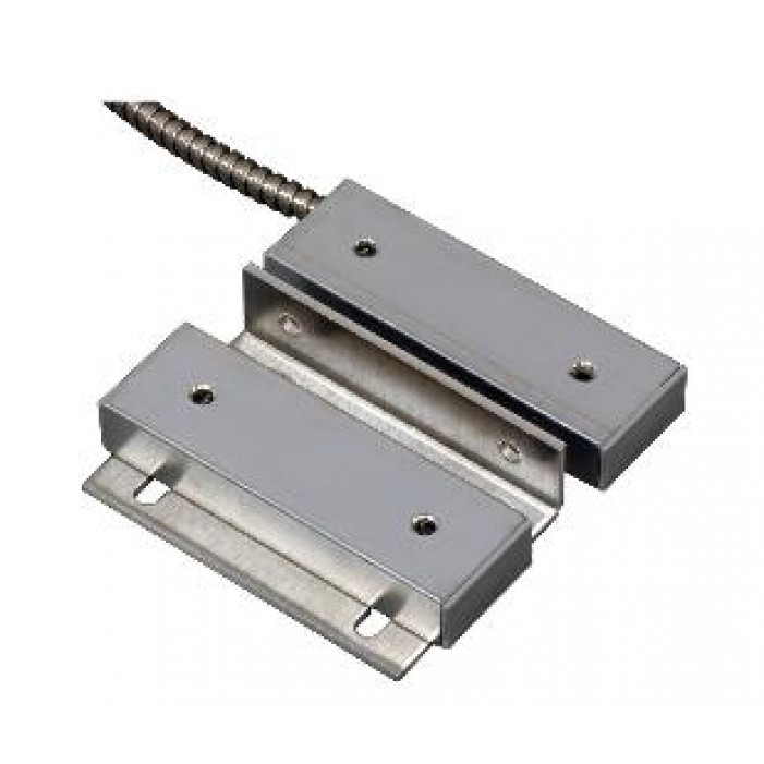 """United Security Products 500-SP Wide Gap - Industrial Contact - CC Metal Enclosures - SS Jacketed Lead - 2.5"""" Gap"""