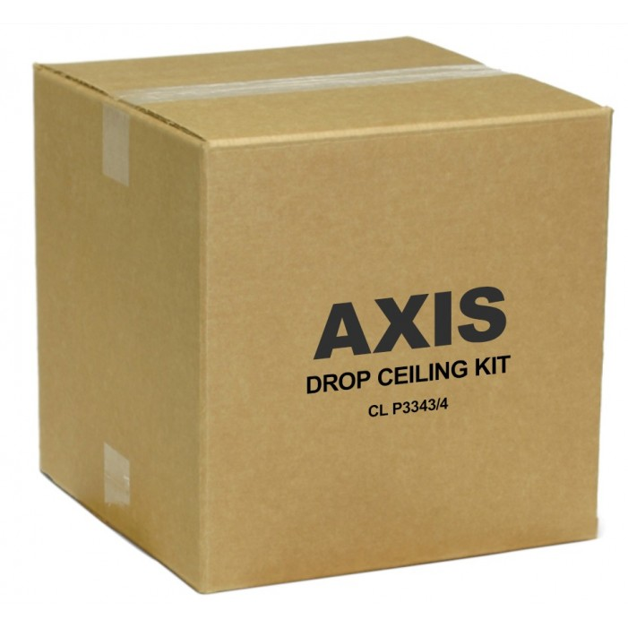 Axis 5502-361 Clear Drop Ceiling Mount for P33 Series