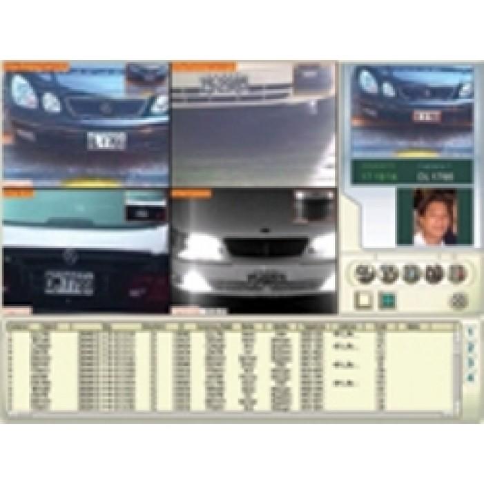 Geovision GV-LPR-1 License Plate Recognition Software, 1 Lane