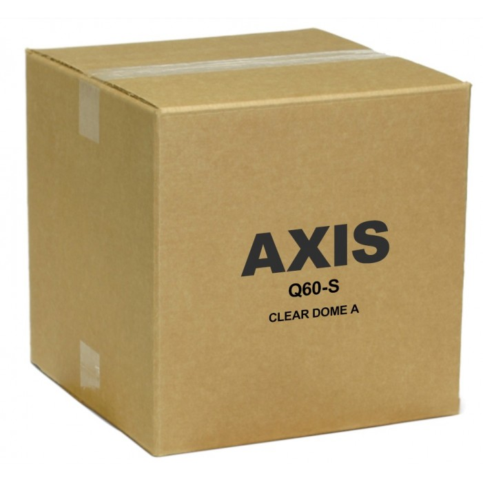 Axis 5700-751 Clear Dome Cover for Q60-S Series