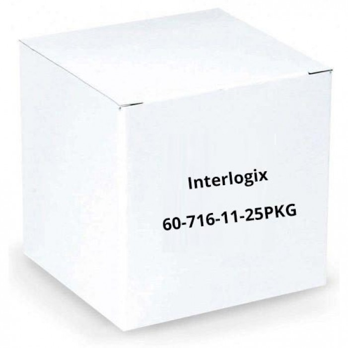Interlogix 60-716-11-25PKG SAW Sensor Magnet Spacer - Brown