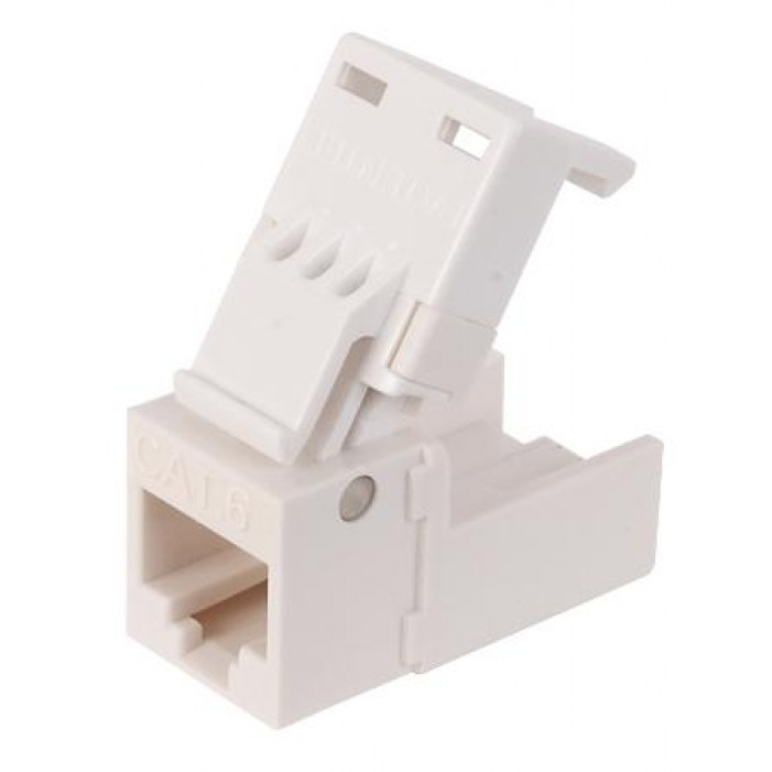 Platinum Tools 706WH-1 EZ-SnapJack Cat 6 White