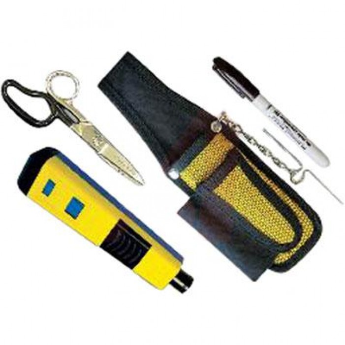 Platinum Tools 90152 Pro Punchdown Kit with Tool Pouch