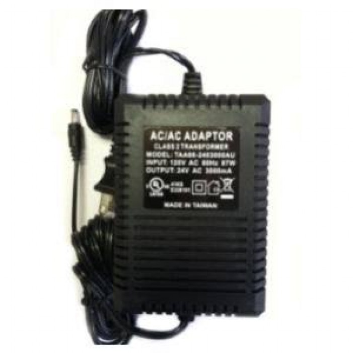 Vivotek AA-341 Plug-in Power Adapter, 120VAC Input, 24VAC Output