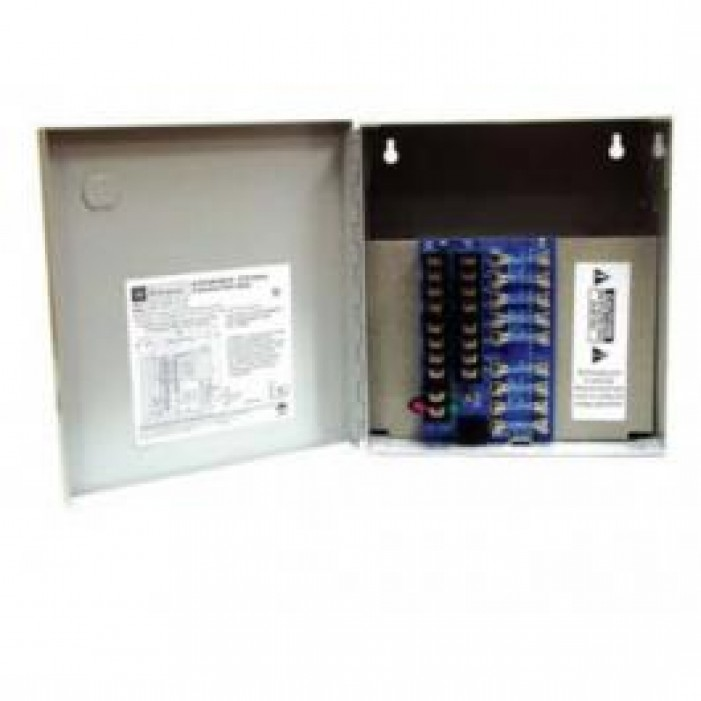 Altronix ALTV615DC48UCBM 8 Output Power Supply, 6-15VDC @ 4 Amp, Class 2 Rated PTC Protected Power Limited, UL Listed, Mini Cabinet