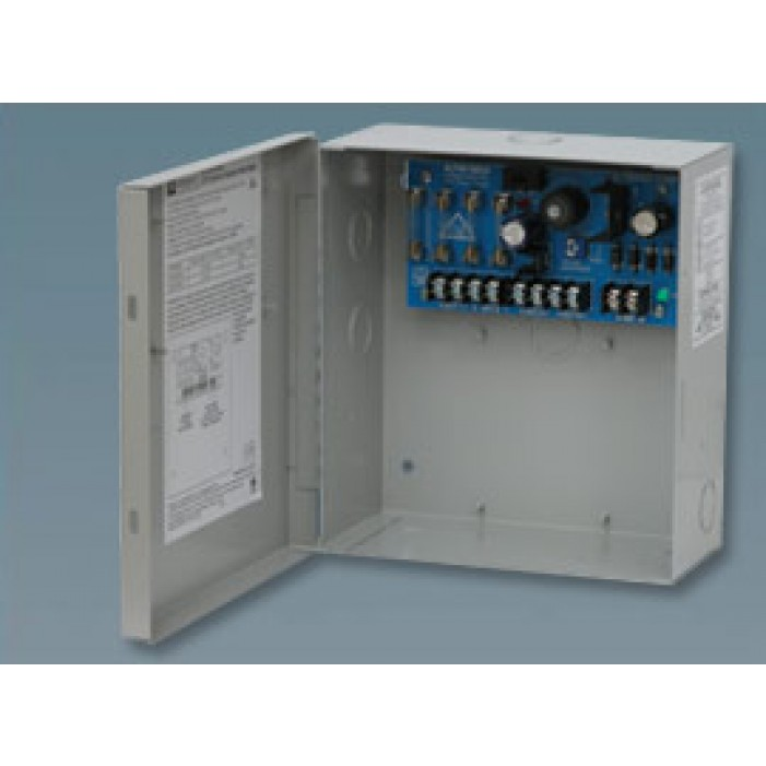Altronix ALTV615DC4UL 4 Output Power Supply, 6-12VDC @ 2.5 Amp/12-15VDC @ 2 Amp, Fused, UL Listed