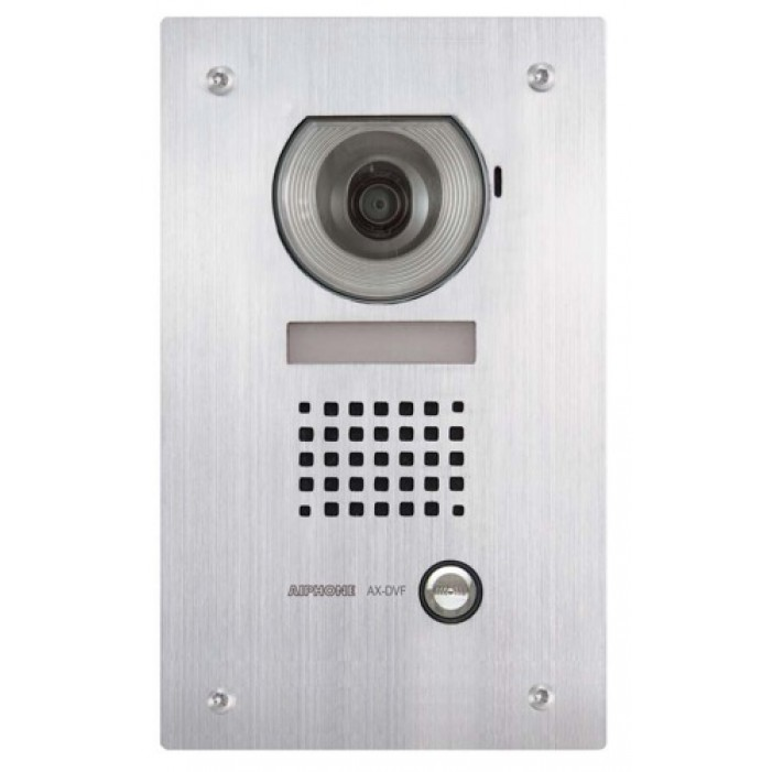 Aiphone AX-DVF Flush Mount Stainless Steel Cover, Video Door Station