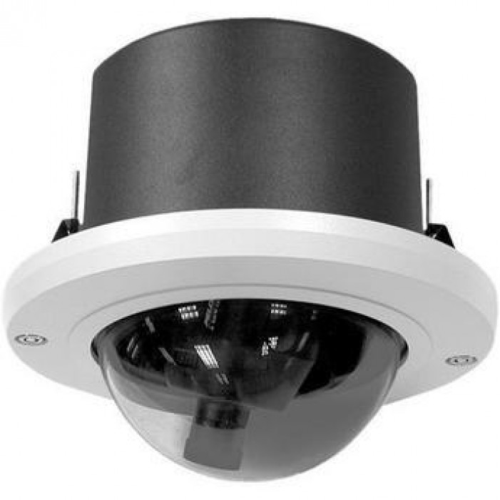 Pelco DF5-0 Fixed Mount In-Ceiling Indoor Housing with Smoked Dome
