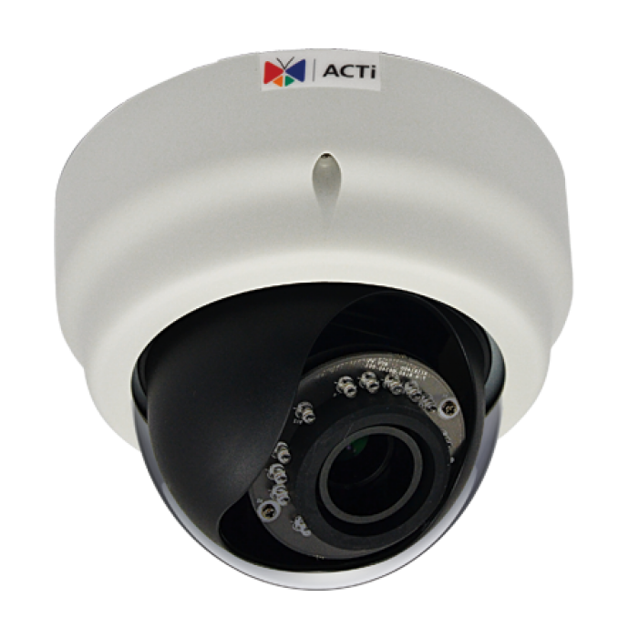 ACTi E69 2Mp Indoor Adaptive IR WDR Network Vandal Dome