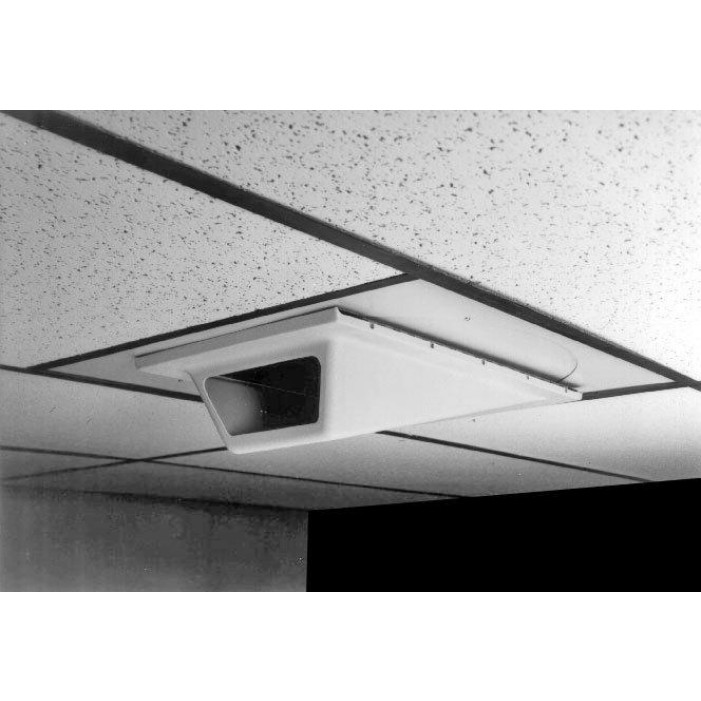 Pelco EH1000 Low Profile Indoor Wedge Enclosure for In-Ceiling