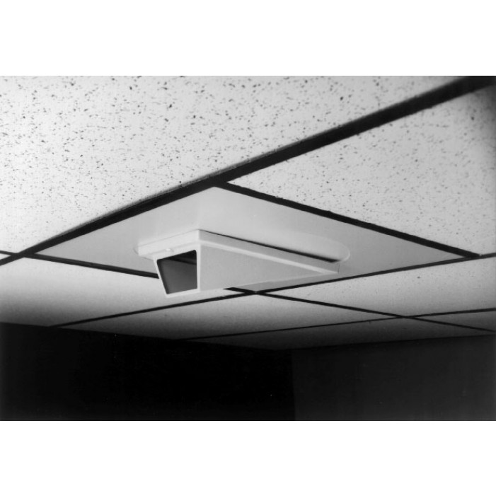 Pelco EH2100P Low Profile Indoor In-Ceiling Wedge Enclosure with Welded Back Box