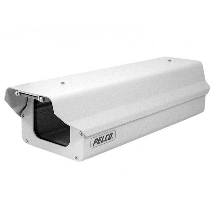 Pelco EH4718-1 18-inch Outdoor Die-Cast and Extruded Aluminum Enclosure, 120 VAC Heater & Blower