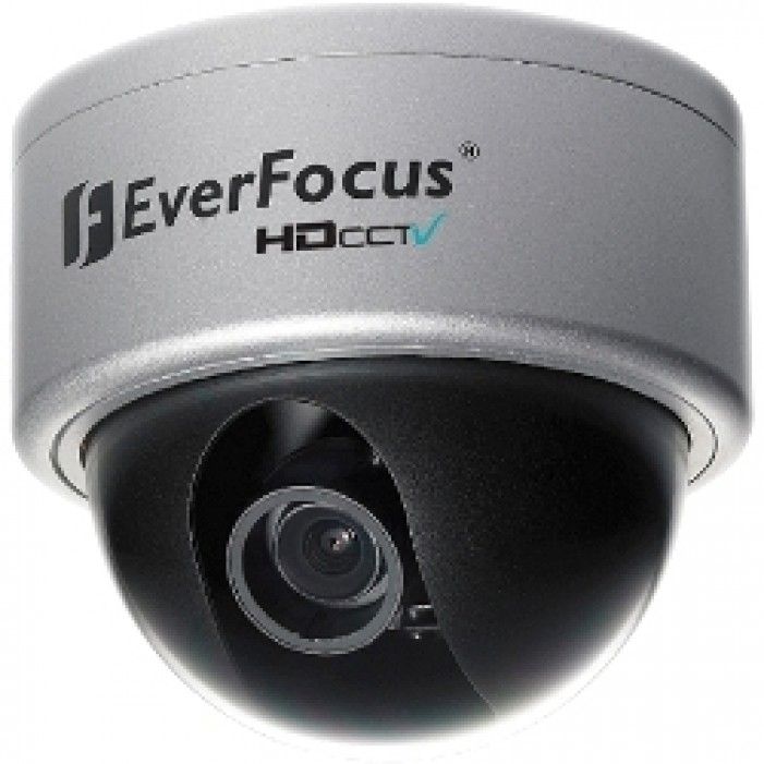 Everfocus EHH5200 2MP Full HD Outdoor True D/N Vandal Dome, 3.3-12mm