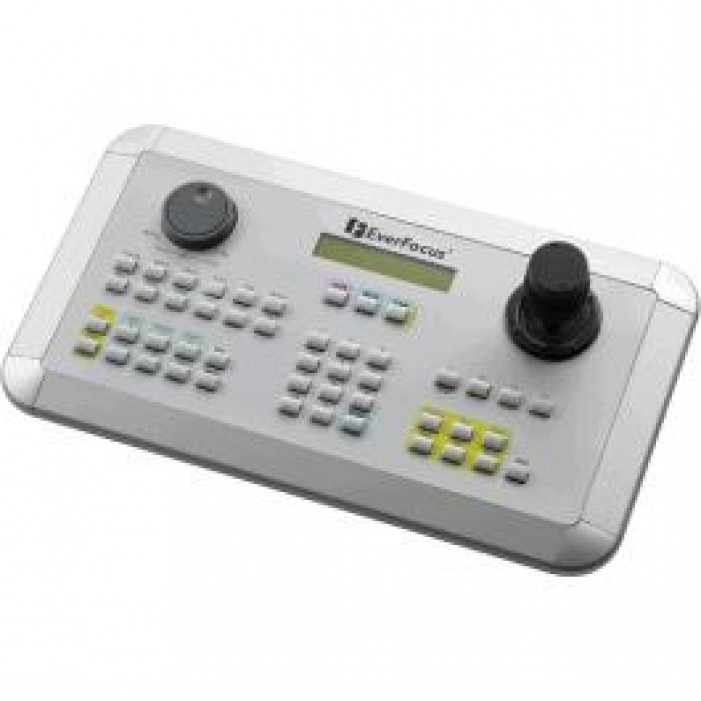 Everfocus EKB500 Multi-Function Keyboard with LCD Display, 3-D Joystick for PTZs
