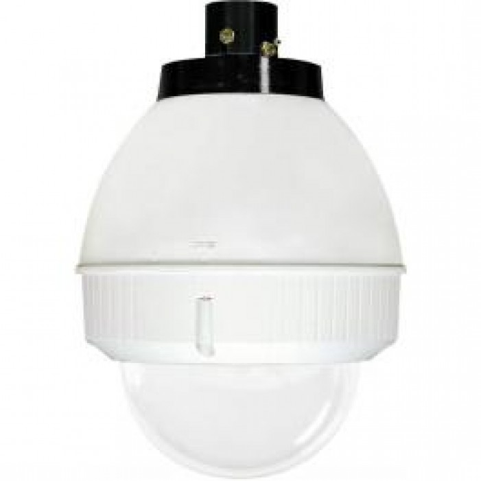 Videolarm FDP75C2N IP 7in Outdoor dome Hsg Pendant Mt. Clr Dome, H/B