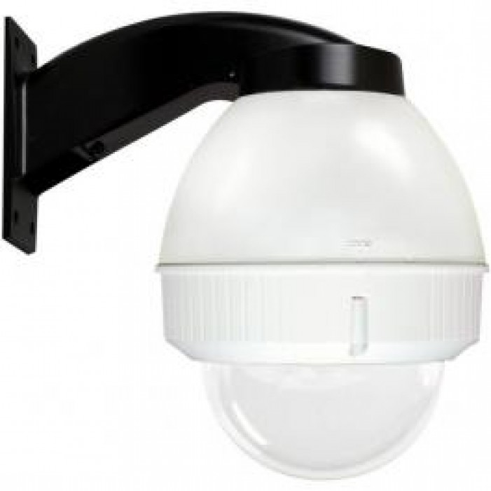 Videolarm FDW75C12N IP 7.5in Outdoor Dome Hsg Wall Mt