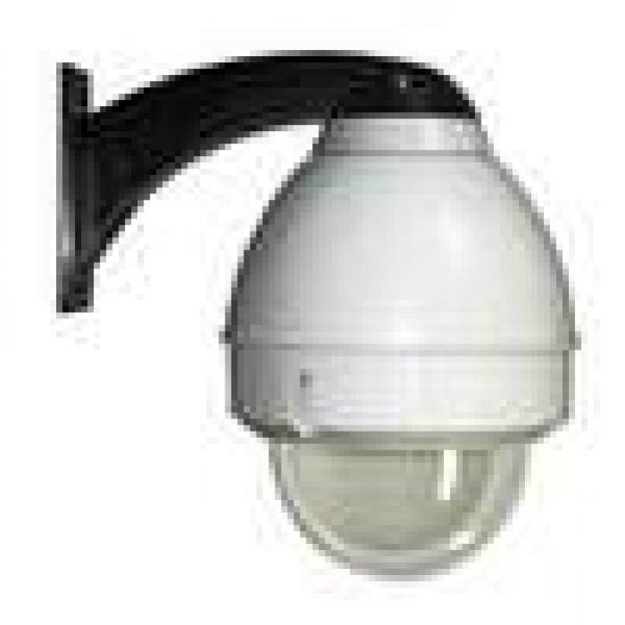 Videolarm FDW75CF8NE Outdoor Dome for PoE Plus Enabled IP Fixed Cameras, No Midspan