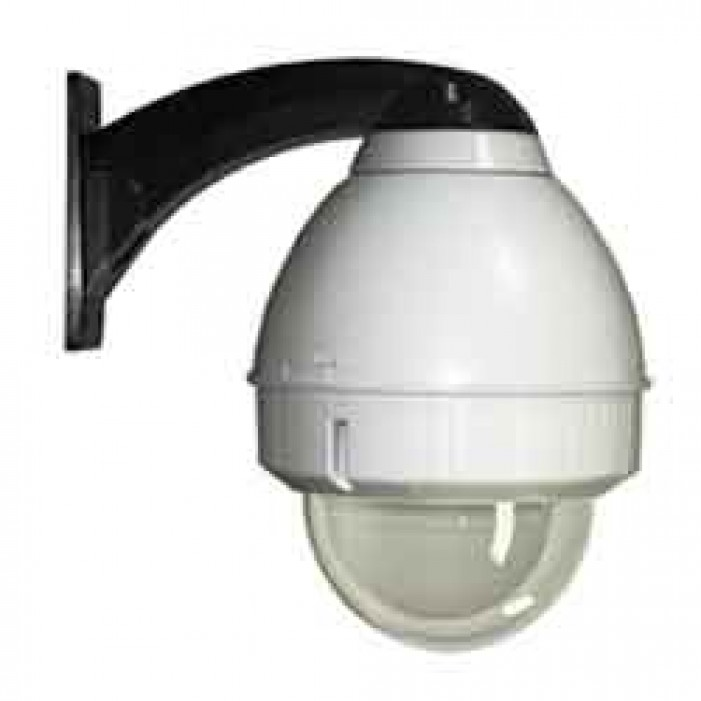 Videolarm FDW75CF8N Outdoor Dome for PoE Plus Enabled IP Fixed Cameras