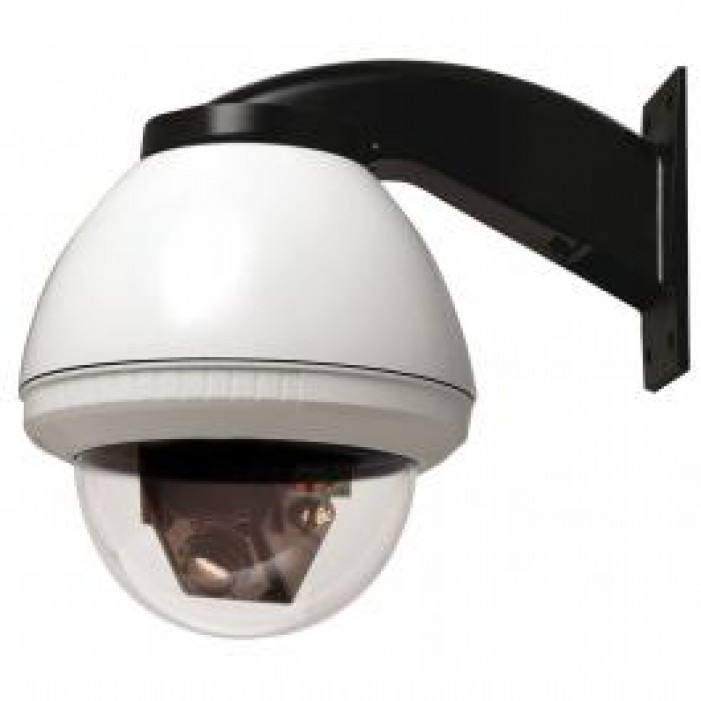 Videolarm FDW7CN-3 36x Outdoor Day/Night FusionDome IP PTZ Camera System, Wall Mount, 24VAC