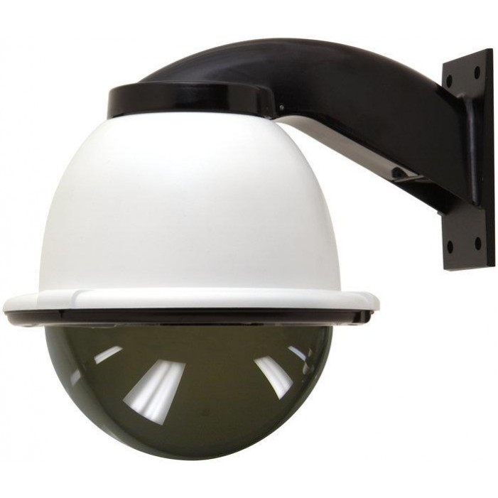 Moog FDW8TF2 8-inch Outdoor Dome Housing with Wall Mount
