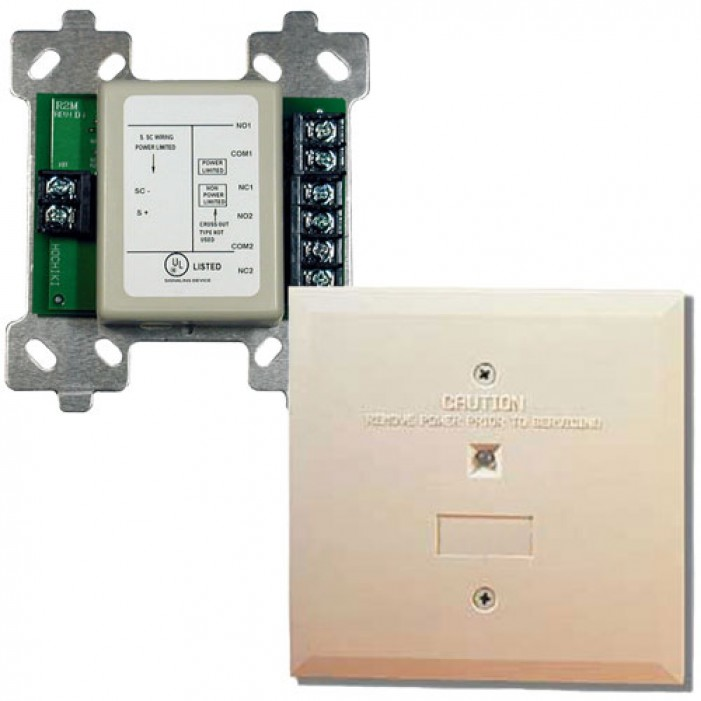 Bosch FLM-325-2R4-2AI 2 Amp Dual Relay Module With Isolator