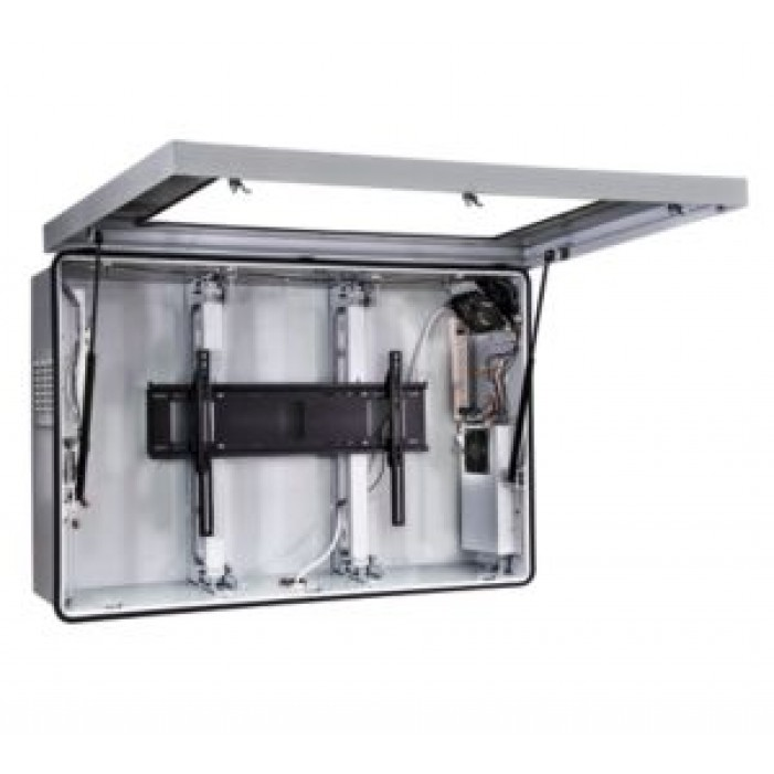 """Peerless-AV FPE55F-S Indoor/Outdoor Protective Enclosure with Cooling Fans for 52""""- 55"""" TV's"""