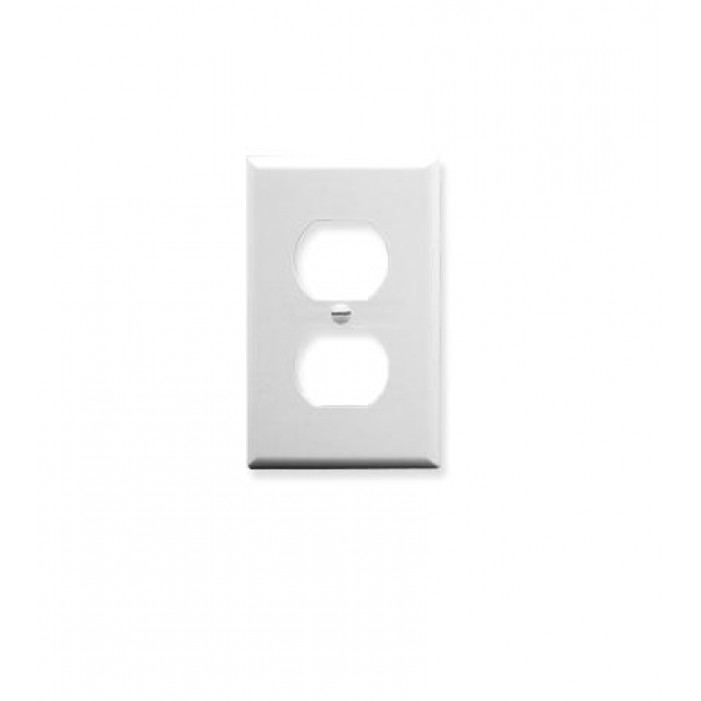 ICC IC106FP2WH Single Gang Electrical Faceplate White
