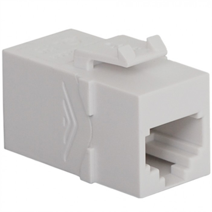 ICC IC107C6SWH RJ-11/14/25 6P6C Coupler, White