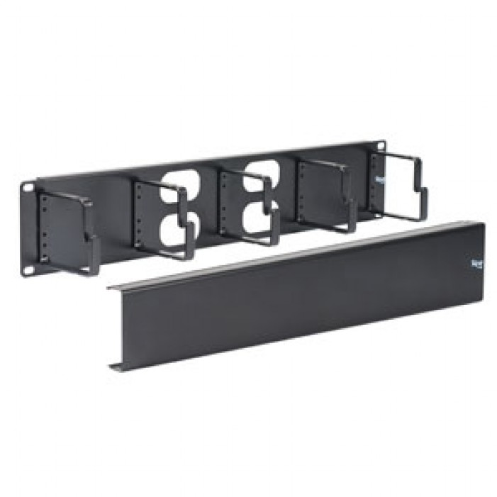 ICC ICCMSCMPK2 Cable Management Metal Interbay Panel & Cover, 2U