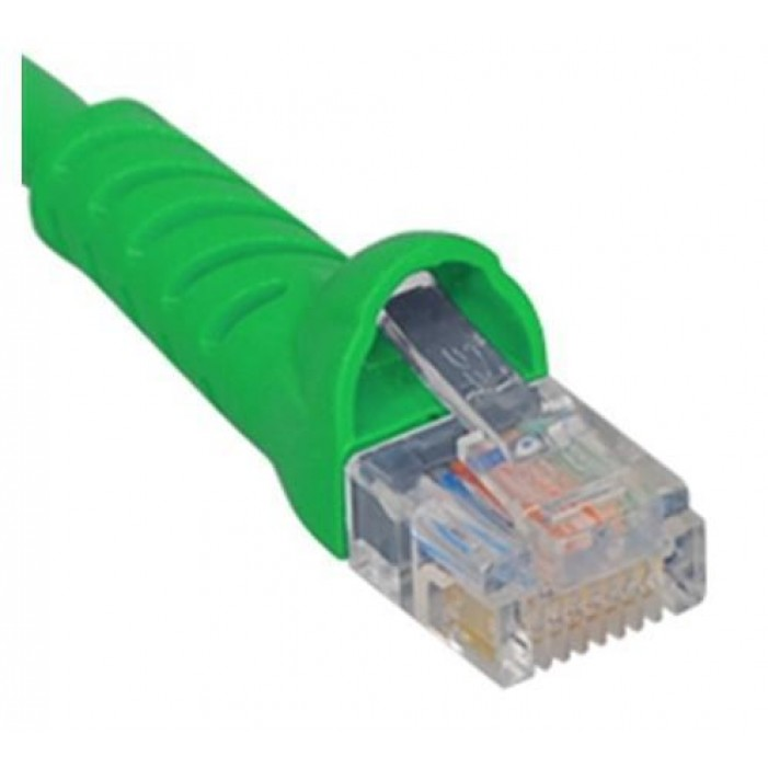 ICC ICPCSK07GN Cat 6 Patch Cord, Green, 7 Ft.