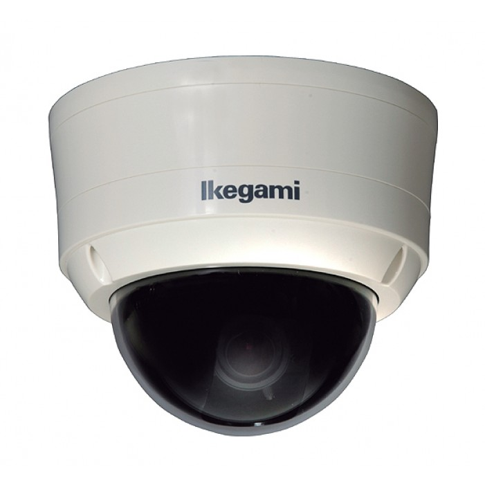 Ikegami IPD-DM11-TYPE31 True Day/Night WDR IP Dome Camera, 2.8-10mm