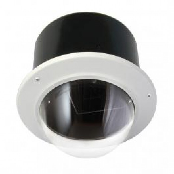 "Moog IRM7CN IP Network Ready 7"" Vandal-Resistant Indoor Recessed Dome Housing"