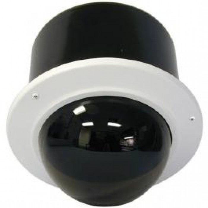 Videolarm IRM7TN 7.5-inch Vandal Resistant Ind. Recessed Dome Hsg.