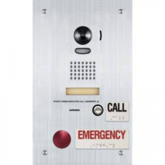 Aiphone IS-DVF-2RA Video Door Station w/Standard & Emergency Buttons