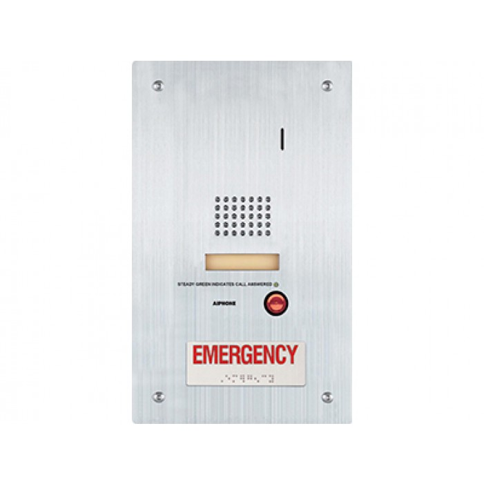 Aiphone IS-SS-RA Audio Door Station with Emergency Call Button