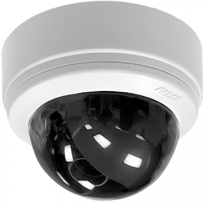 Pelco IS90-CH3 IS Indoor Dome Camera, High Resolution, 540TVL, 2.9mm, White Dome