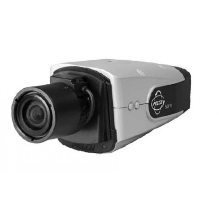 Pelco IXS0C50-EB 0.5 Megapixel Outdoor IP Color Box Camera with Heater Defroster and Blower, 15-50mm Lens