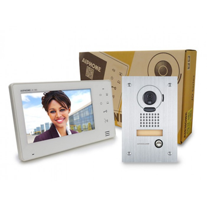 Aiphone JOS-1F 7 inch Screen With Touch Buttons Hands-Free Video Set