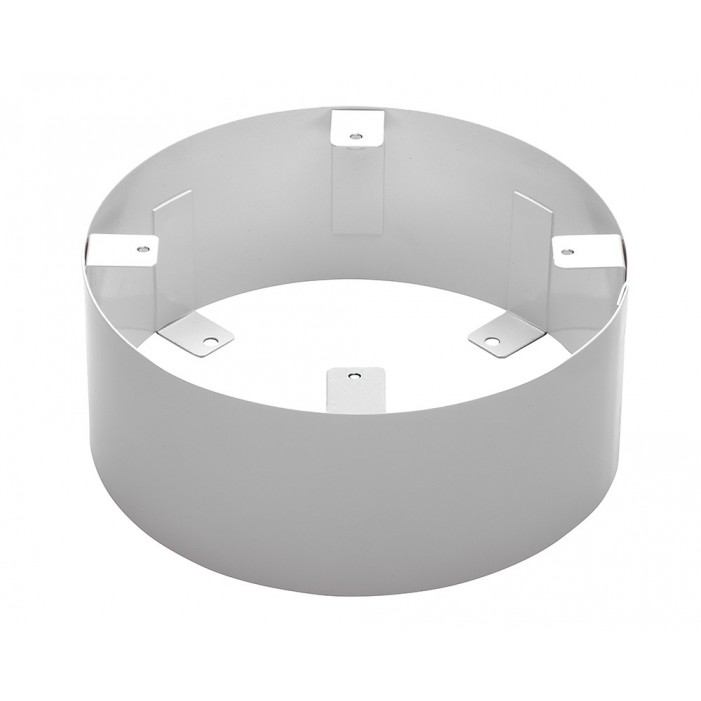Louroe Electronics MR-4 Mounting Ring for TLM-CS, Ceiling Surface Mount