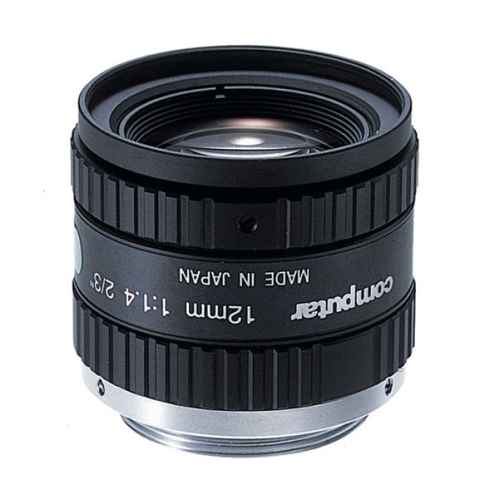 Computar M2514-MP2 2/3-inch 25mm f1.4 w/locking Iris & Focus (C Mount)