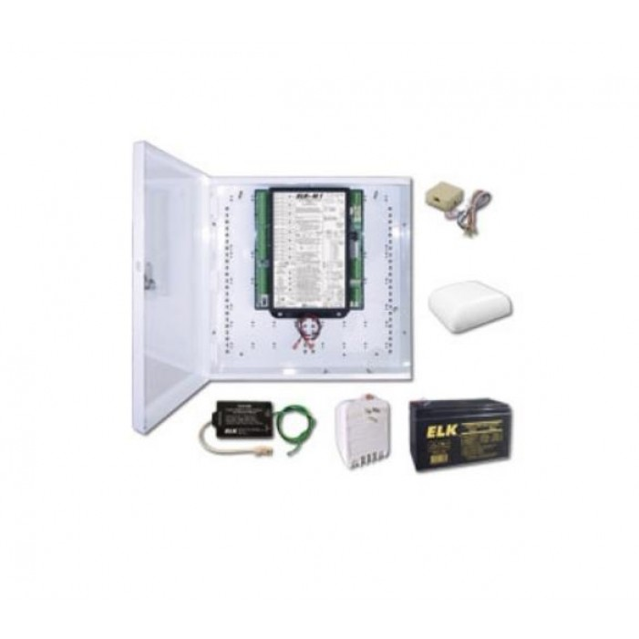 Elk M1GSYS3 M1 Gold Kit with Enclosure, No Keypad