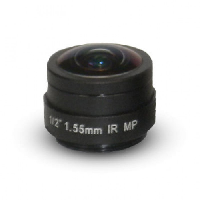 Arecont Vision MPL1-55 1.55mm, 1/2 in., f1.8, Fisheye Lens
