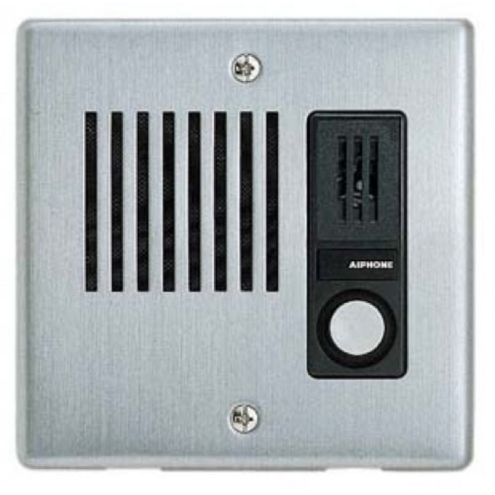 Aiphone NE-JA Weather Resistant Flush Mount Door Station for NEM, NDR, NDRM Systems