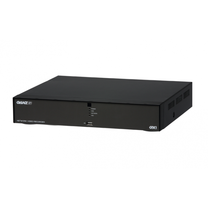 Ganz NR1-8F23 8Ch PixelMaster HD Embedded NVR with GXi, No HDD